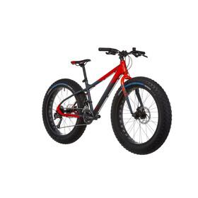 s'cool XTfat 24 18-S - Vélo enfant - gris/rouge